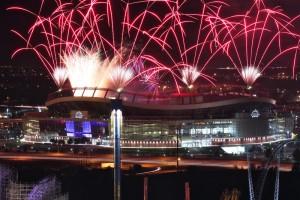 Mile High fireworks
